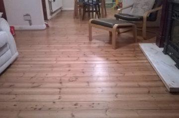Pine clear matt lacquer
